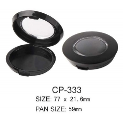 Round Cosmetic Compact CP-333
