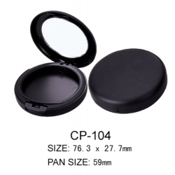 Round Cosmetic Compact CP-104