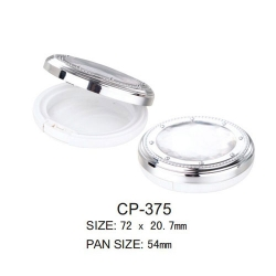 Round Cosmetic Compact CP-375