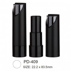 Plastic lipstick container