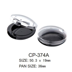 Round Cosmetic Compact CP-374A