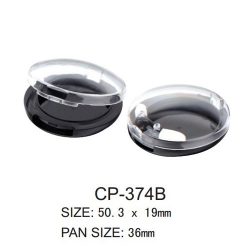 Round Cosmetic Compact CP-374B