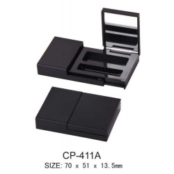 Square Cosmetic Compact CP-411A/B/C/D