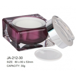 Empty Cosmetic Arylic Jar Container