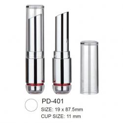 Round Plastic Cosmetic Lipstick