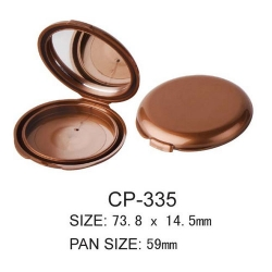 Round Cosmetic Compact CP-335
