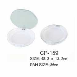 Round Cosmetic Compact CP-159