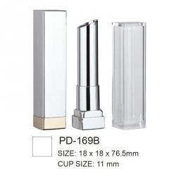 Empty Square Plastic Cosmetic Lipstick