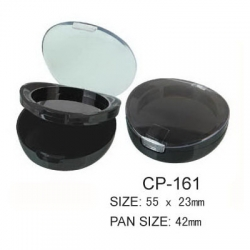 Round Cosmetic Compact CP-161