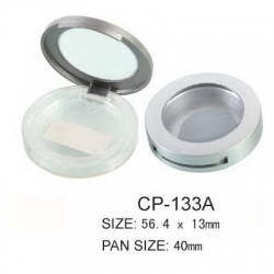 Round Cosmetic Compact CP-133A