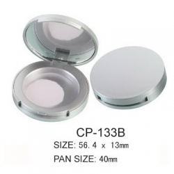 Round Cosmetic Compact CP-133B