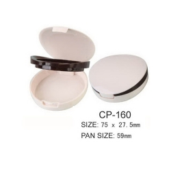 Round Cosmetic Compact CP-160