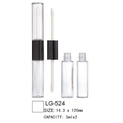 Dual Heads Lip Gloss Case LG-524