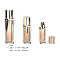 Plastic Cosmetic Lotion Bottle Container