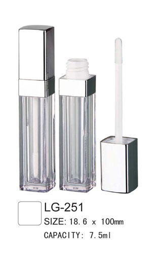 Square Lip Gloss Case LG-251