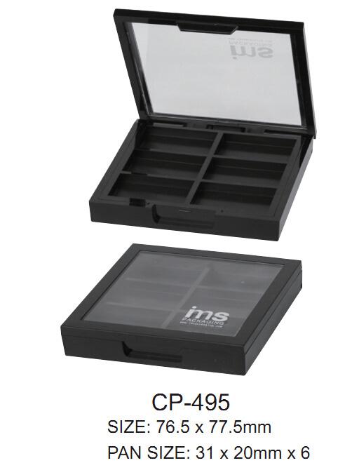 Cosmetic Compact Eyeshadow Case