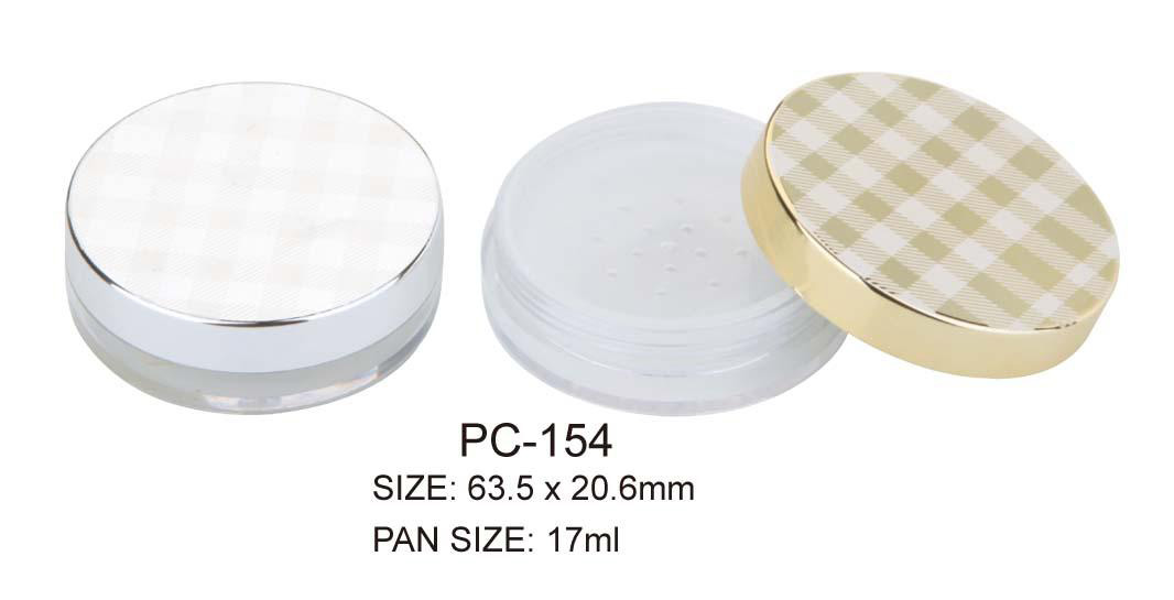 Luxury Cosmetic Loose Powder Container