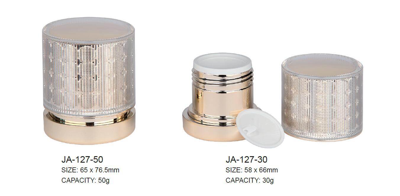 Empty Arylic Jar Container