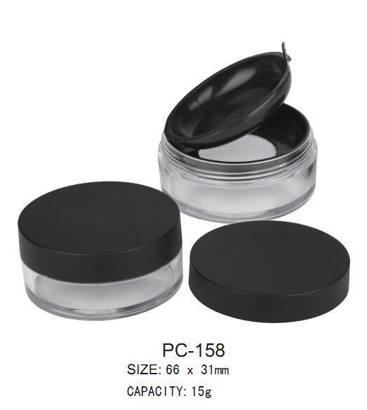 Plastic Loose Powder Jar