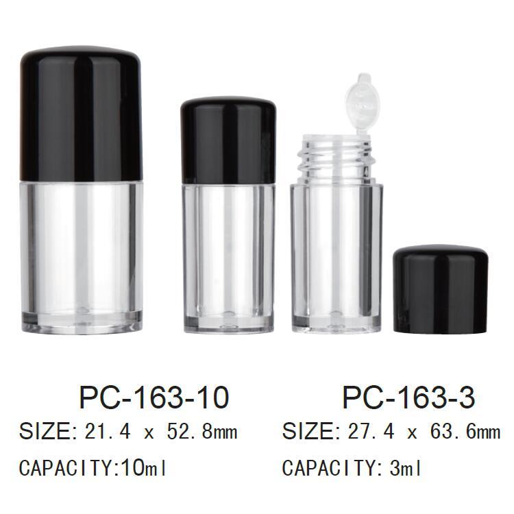 Plastic Cosmetic Loose Powder Jar