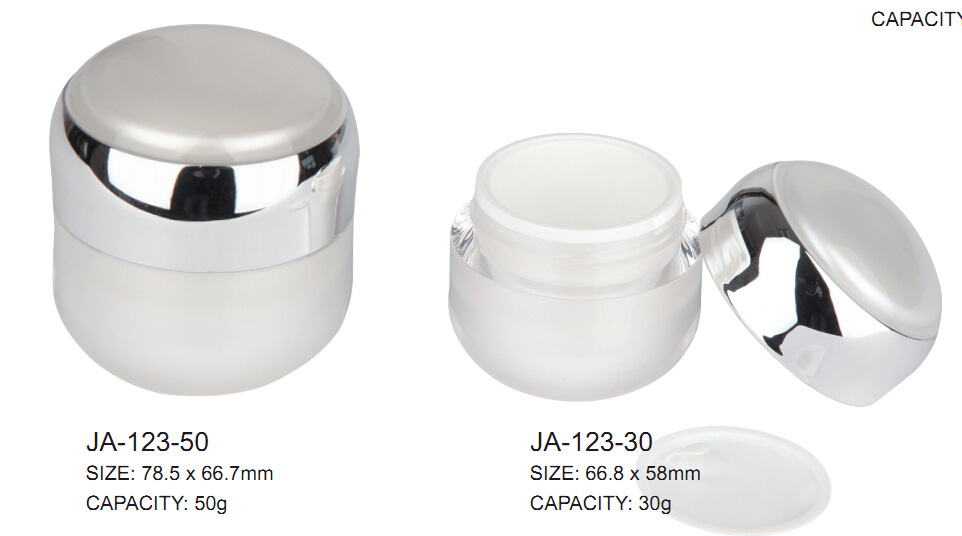 Acrylic cream bottle  JA-123
