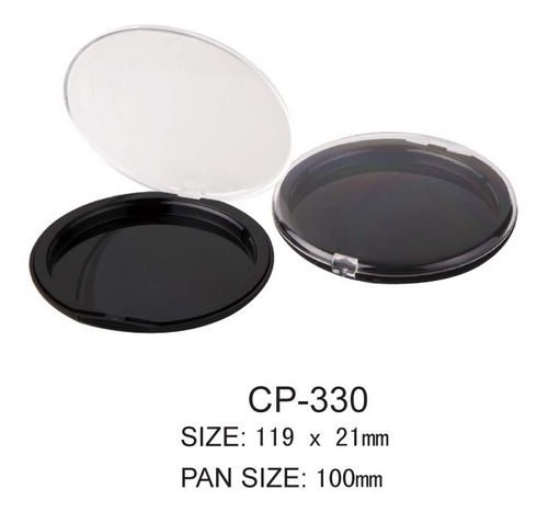 Round Cosmetic Compact CP-330