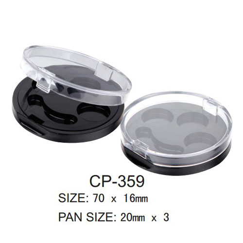 Round Cosmetic Compact CP-359