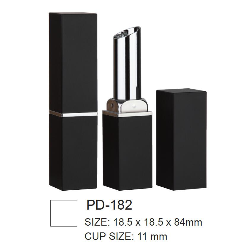 Square Plastic Lipstick Packaging