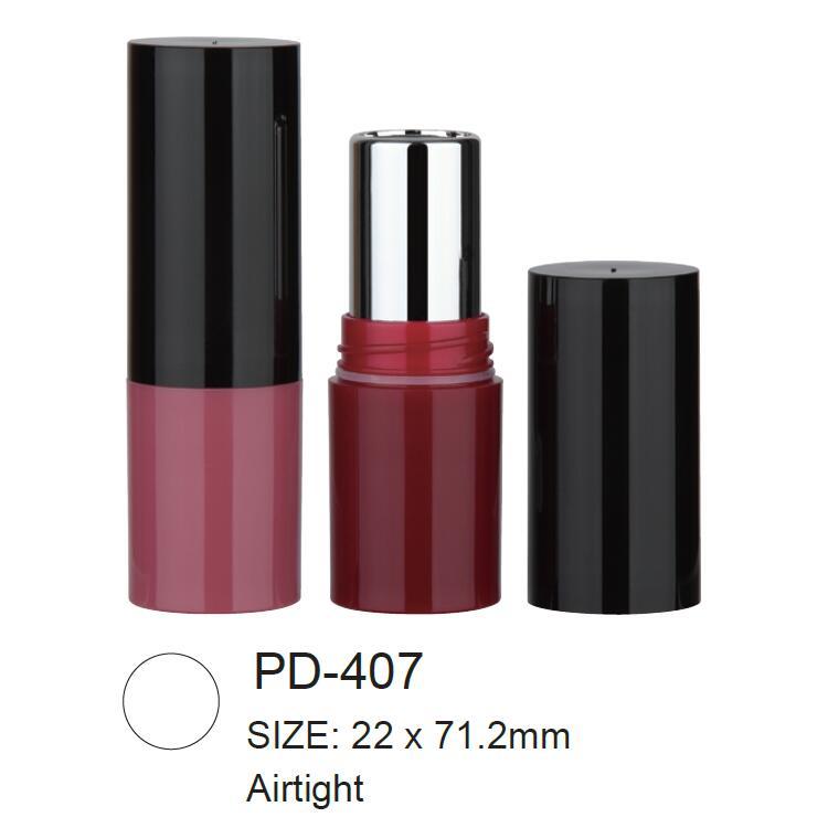 Round Plastic Airtight Lipstick Tube