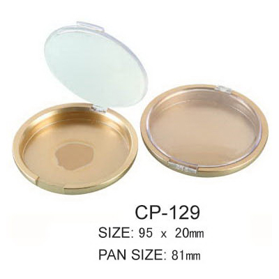 Round Cosmetic Compact CP-129