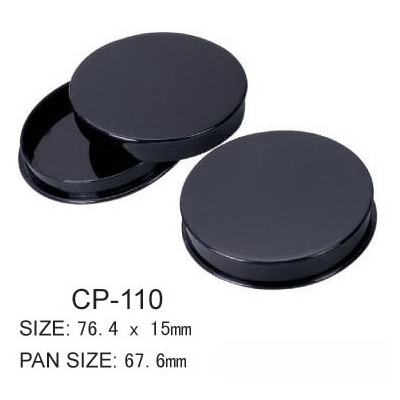 Round Cosmetic Compact CP-110