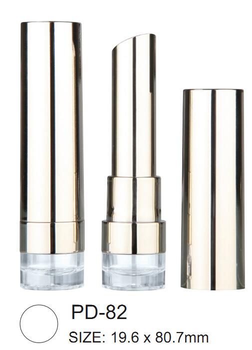 Round Aluminium Lipstick Container