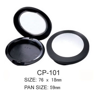 Round Cosmetic Compact CP-101