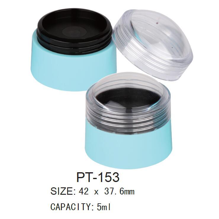 Plastic Round Cosmetic Pot