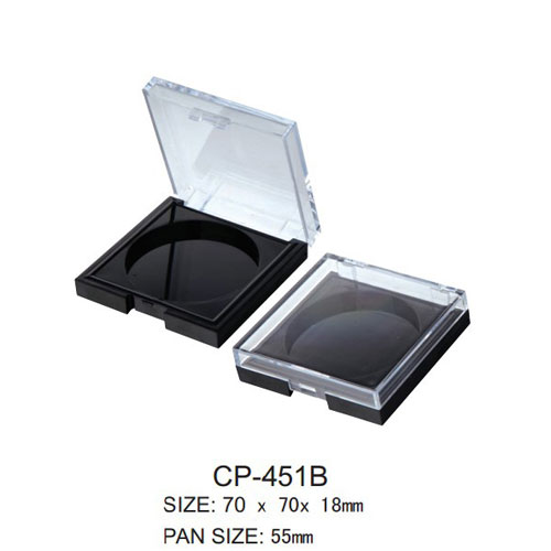 Square Cosmetic Compact CP-451B
