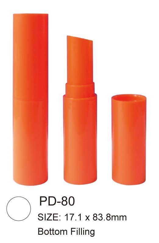 Red Plastic Lipstick Case