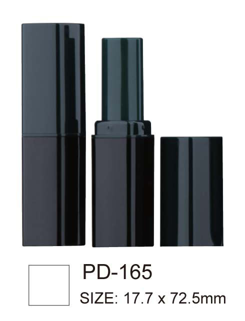 Square Black Lipstick Tube PD-165