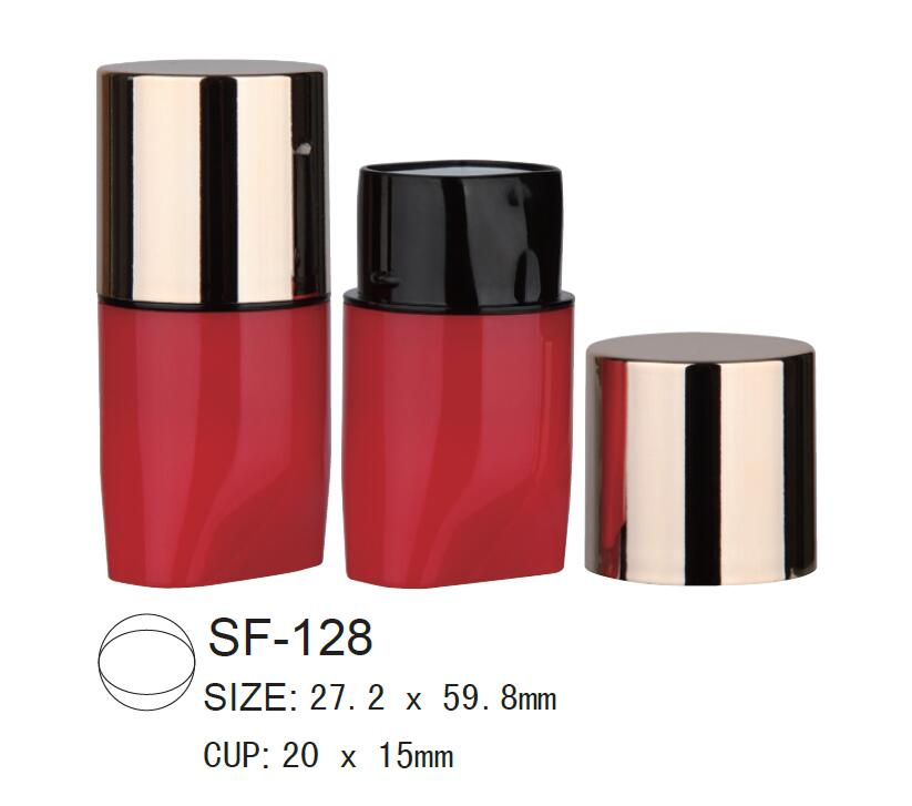 Plastic Cosmetic Foundation Stick Case