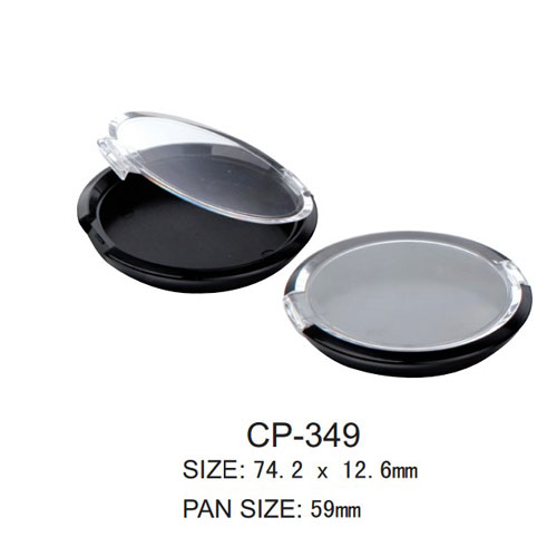 Round Cosmetic Compact CP-349