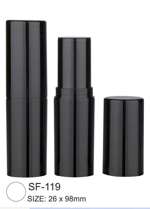 Round Plastic Lipstick Tube Container SF-119
