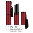 Round Plastic Lipstick Tube