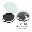 Round Cosmetic Compact CP-138