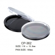 Round Cosmetic Compact CP-362