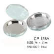 Round Cosmetic Compact CP-158A