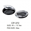 Round Cosmetic Compact CP-372