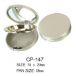 Round Cosmetic Compact CP-147