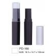 Classic Plastic Lipstick Case