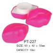 Plastic Cosmetic Pot Container