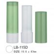 Plastic Round Cosmetic Lip Balm Container