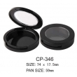 Round Cosmetic Compact CP-346
